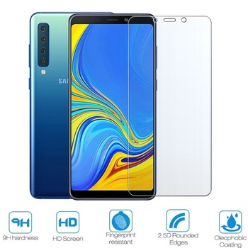 Tempered Glass For Samsung Galaxy A7 2018 SM-A750F Screen Protector For Samung A10 A20 A30 A40 A50 M10 M20 M30 A9 2018 A305F image
