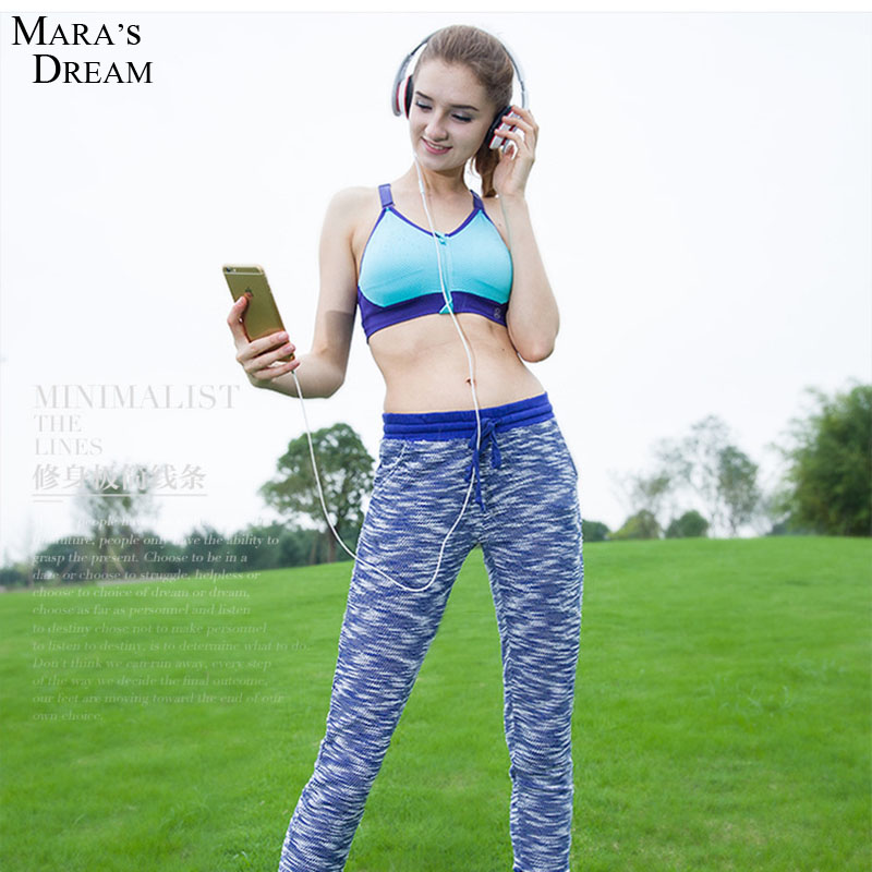 Women's Sports Fitness Yoga Pants The New Thick Needle