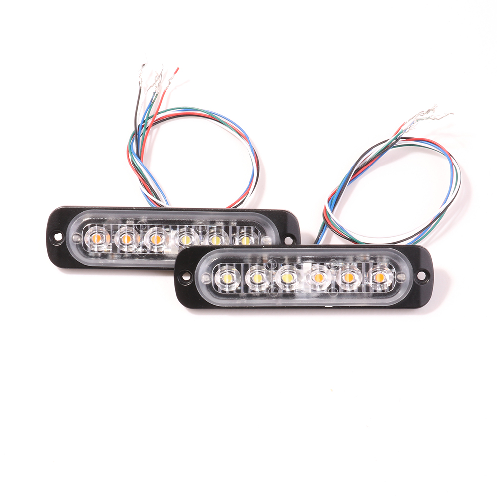 Bogrand Car Emergency Warning Hazard Light Led Strobo Lights Auto Alarm Lamp Strobe Warning Light Bar Amber Trafic Lights