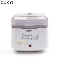 CUKYI 110V 220V Fully Automatic Household Electric Yogurt Maker 750ml Capacity Multifunctional White Yogurt Machine
