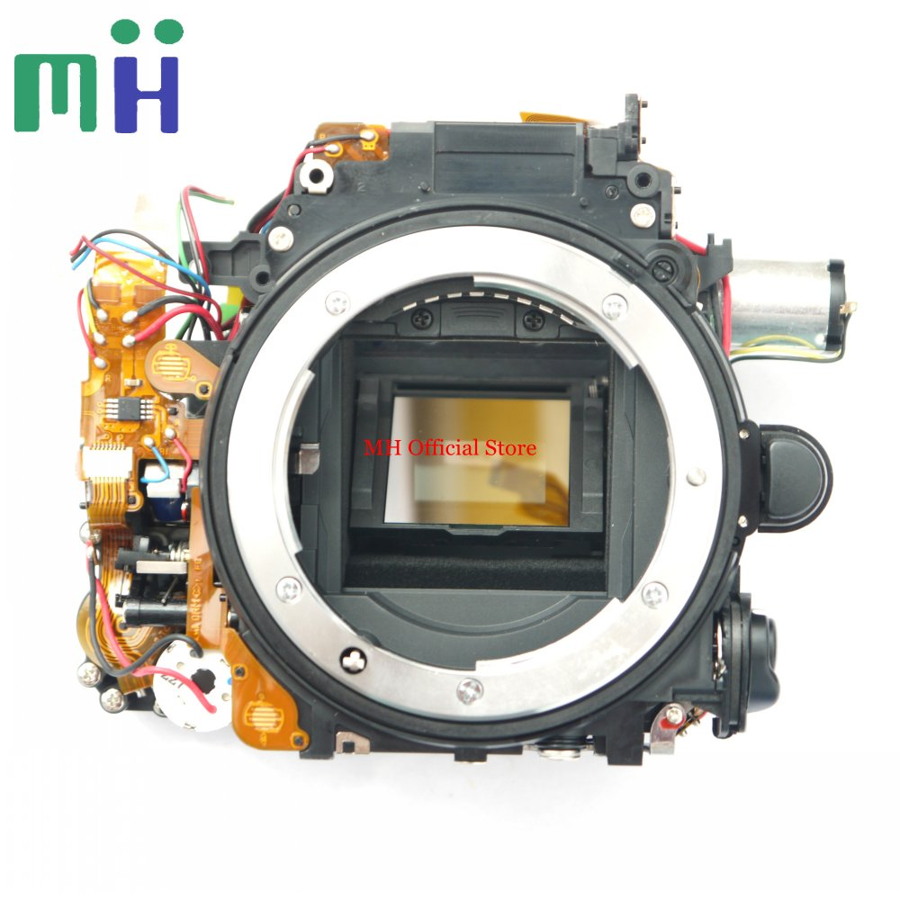 For Nikon D7000 Mirror Box Front Body Bayonet Mount Frame with Aperture Shutter Motor Diaphragm Camera