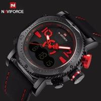 2017 Luxury Brand NAVIFORCE LED Digital Sports Watches Men Military Casual Watch Waterproof Relogio Masculino Men