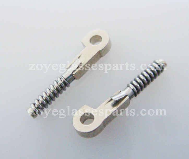 1.3mm spring inside for eyeglass spring hinge TX-035,broken hinge part for eyewear repairing shipping in 2 days