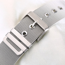 The stainless steel mesh belt watchband Milan watch strap14-24 for Apple Watch for Pam Fit Any Wrist Watch replace  все цены