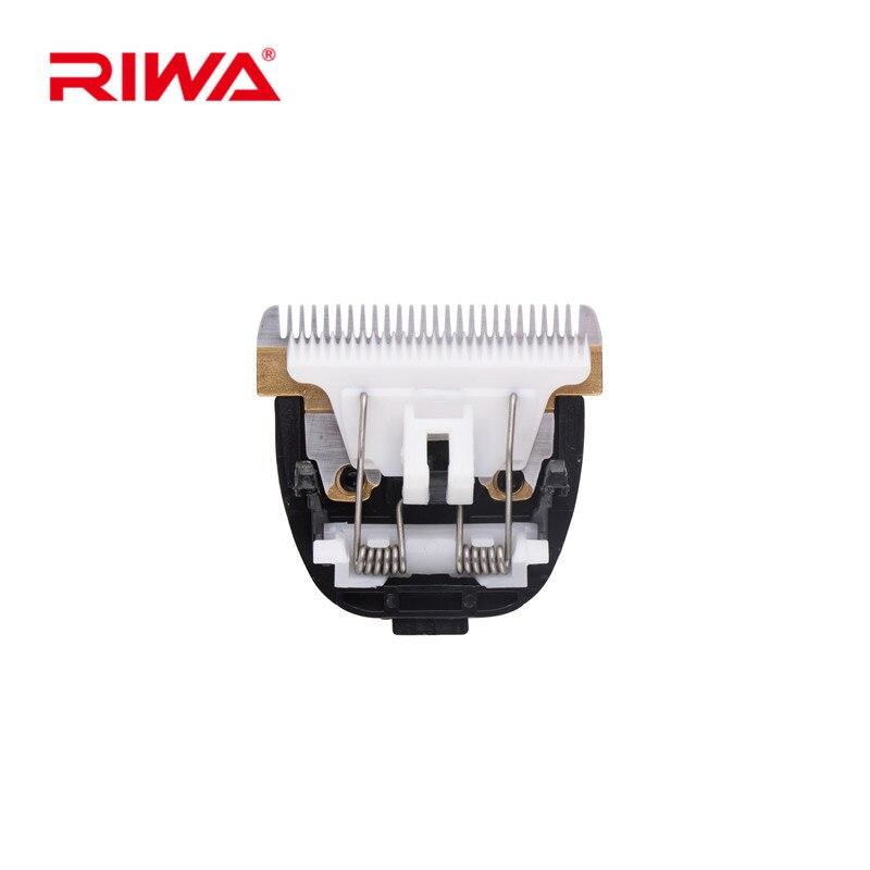 RIWA X9 Сменное лезвие для стрижки волос, титановое керамическое лезвие, головка для резки волос, парикмахерские аксессуары, RZ-145E