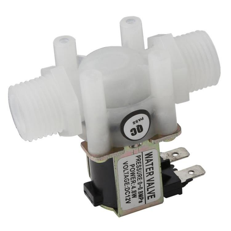"1/2"" DC 12V Electric Solenoid Valve N/C Water Air Inlet Flow Switch Normally Closed 1/2 Inch Valves"