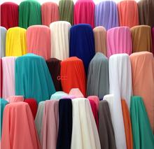 150cm Width Chiffon fabric soft fabric for chiffon dress blouse skite wedding fabric DIY 1 meter/lot