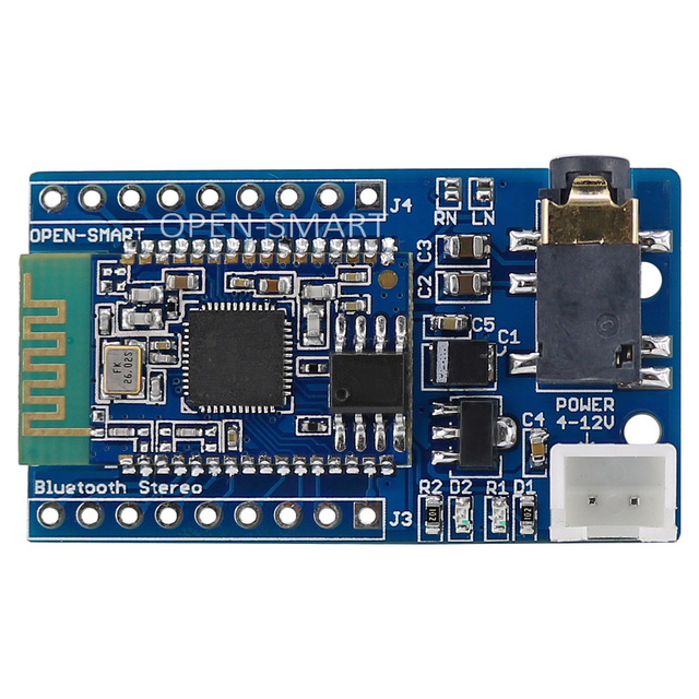 BK8000L Bluetooth Stereo Audio Music Player Module with Audio Jack Breakout board Receiver module for Speaker amplifier DIY