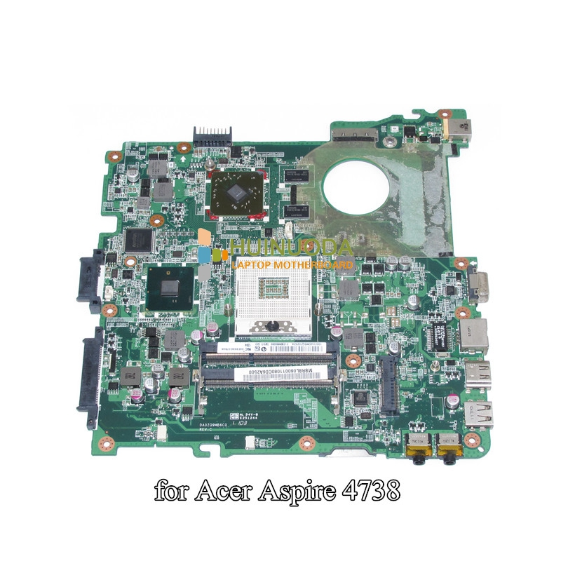 MBRBL06001 MBRBL06001 Mainboard For Acer aspire 4738 4738G 4738Z 4738ZG Laptop Motherboard DA0ZQ9MB6C0 HM55 DDR3 ATI GPU Onboard vg 86m06 006 gpu for acer aspire 6530g notebook pc graphics card ati hd3650 video card