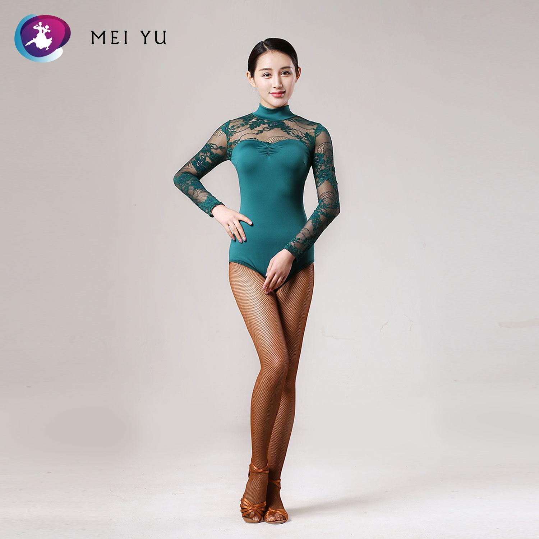 Mei Yu Gb071 Latin Moderne Dans Top Waltzing Tango Cha Cha Ballroom Kostuum Turnpakje Vrouwen Lady Avond Party Dress Top Een Effect Produceren Voor Een Heldere Visie