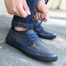 Zapatos de hombre, zapatos de skateboarding para hombre, novedad de 2019, zapatillas vintage cómodas para exteriores, zapatos de hombre, zapatillas informales con cordones, zapatillas de hombre de talla grande