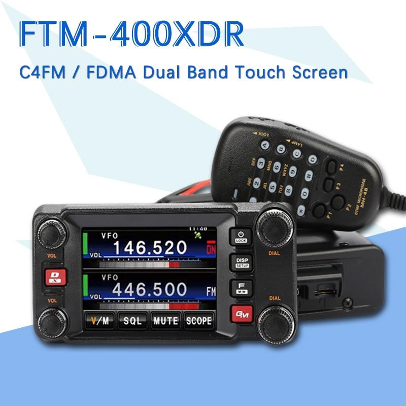 Suitable For The Yaesu FTM-400XDR Latest C4FM / FDMA Dual-Band Digital Car Radio Transceiver