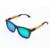 Moda de madera gafas de sol Unisex cuadrado gafas de sol de bambú espejo diseñador de la marca madera Original gafas feminino gafas de sol