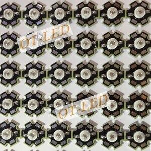 Image 4 - Chip LED de alta potencia para cultivo de plantas y frutas, 100 uds, 3W, 660nm, diodo SMD rojo profundo, COB, bricolaje