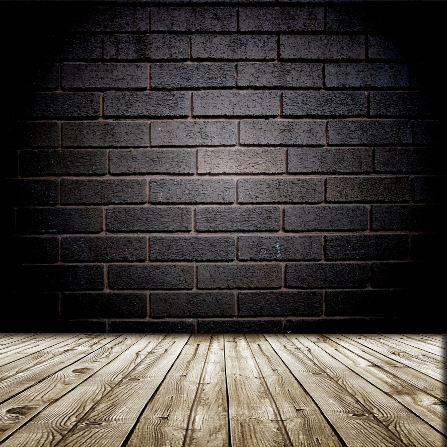 Laeacco Gradient Dark Brick Wall Wooden Floor Scene Photography Backgrounds Vinyl Custom Camera Photo Backdrops For Photo Studio wooden floor and brick wall photography backdrops computer printing thin vinyl background for photo studio s 1120