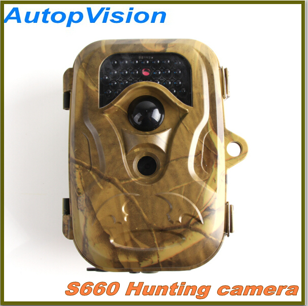 ФОТО S660 12MP  Scouting Infrared Trail Hunting Camera Camcorder Video wholesale  free shipping