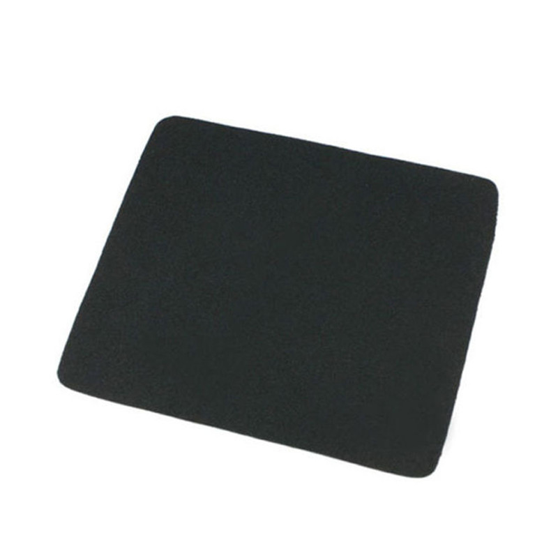 1Pcs Anti-Slip Computer Rubber Gaming Mouse Pad Mouse Mat Pad Mat Black For PC Laptop 21X17cm
