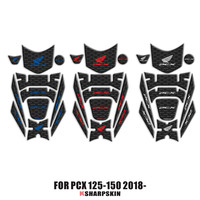 3D Fairing Gas Cap Tank Pad protection Sticker Decal for Honda PCX 125 150 PCX125 PCX150 2018 2019