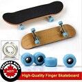 Profesional Mini Stents de Aleación de Dedo Del Juguete del monopatín De madera de Arce Diapasón Finger skate board modelo BMX Novedad regalo de Los Niños