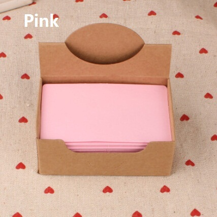 Hot selling 90*54mm.new arrival fashion cute retro Pink diy fun kraft paper tags.Blank paper Label.hang tag.bookmark.retail grea