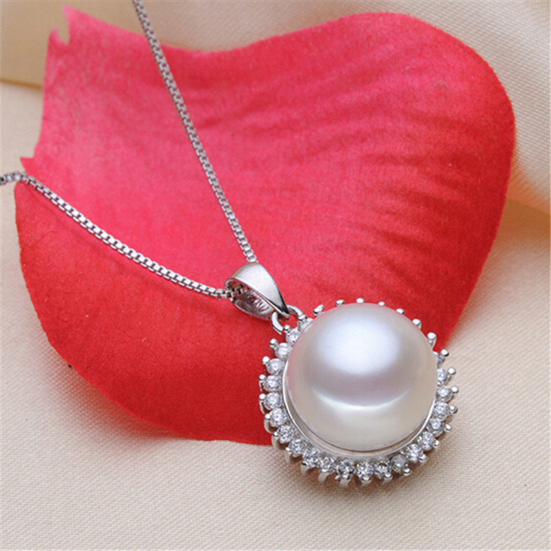 YIKALAISI 925 bizhuteri argjendi i pastër Bizhuteri Pearl, bizhuteri - Bizhuteri të bukura - Foto 2