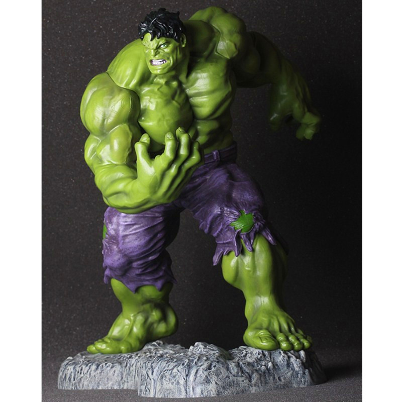 The Incredible Hulk Avengers 3 Superhero Robert Bruce Banner PVC Action Figure DC Comics Collectible Model Toy Doll L2075 statue avengers superhero hulk 1 4 bust robert bruce banner head portrait resin action figure collectible model toy w75