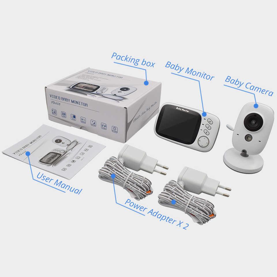 ワイヤレスベビーモニター VB603 3.2 インチベベ馬場電子ベビーシッターラジオビデオベビーカメラ乳母温度監視カマラ