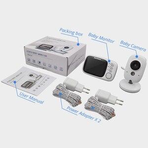 Image 5 - Wireless Baby Monitor VB603 3.2 inch BeBe Baba Electronic Babysitter Radio Video Baby Camera Nanny Temperature Monitoring Camara