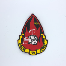 Custom Embroidered Patch FLAG Personalised TAG NAME TEXT National Backpack Badge 06
