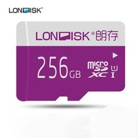 LONDISK 256GB Micro SD Cards UHS I (U1) / UHS I (U3) / Class 10 (C10) microSDXC Memory Card with SD Adapter