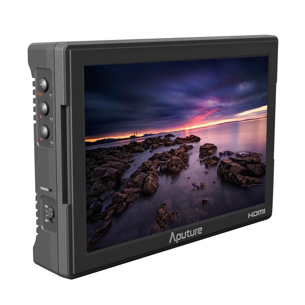 Aputure VS-5 HD-SDI & HDMI 1920*1200 écran LCD moniteur vidéo pour Sony Canon Nikon Panasonic DSLR Support forme d'onde Vectorscope