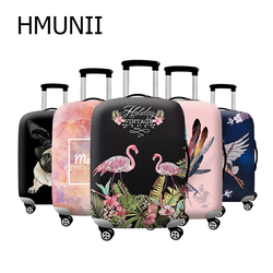 HMUNII Trolley Case Suitcase Dust Cover Elastic Fabric Luggage Protective Cover Suitable18-32 Inch Travel Accessories