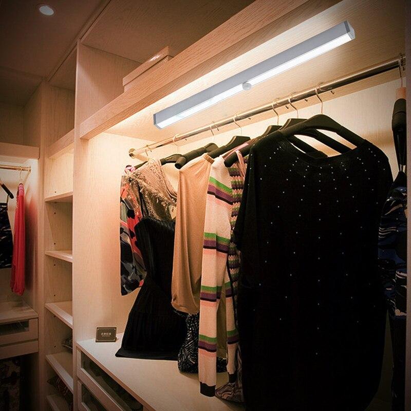 bewegingssensor mini 20 led nachtlampje closet lamp draadloze muur licht batterij home verlichting voor onder keukenkastjes in bewegingssensor mini 20 led