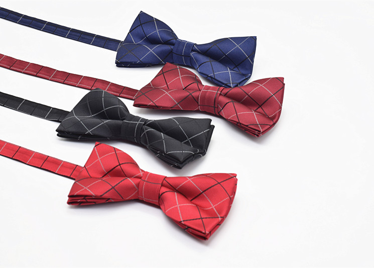Pugeemi Bao Tai Han Edition Men Of England Service Tie Knot Wedding Best Hotel Ktv Navy Blue Wine Red 2017 Bow In Ties Handkerchiefs From