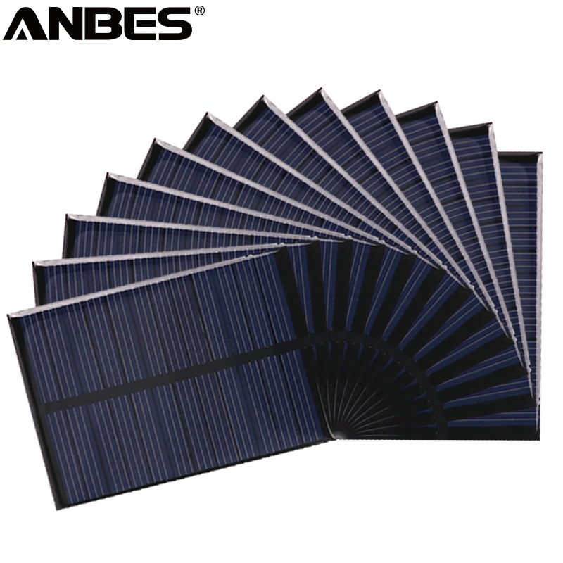 ANBES Solar Panel 6V 12V Portable Module DIY Small Solar Panel for Cellular Phone Charger Home Light Toy etc Solar Cell
