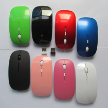 Original 2400 DPI Portable font b Mini b font USB Mice Wireless Mouse Ergonomic Optical Gaming