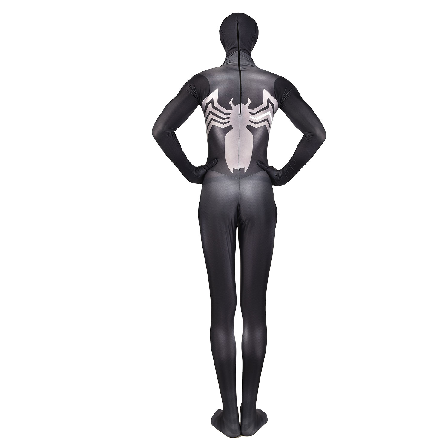 Comic Venom Cosplay Costume with Lense Men Party Bodysuit Spandex Zentai Sui in Game Costumes from Novelty Special Use