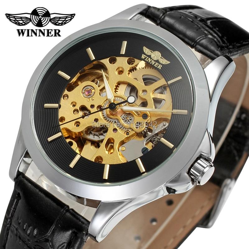 Vencedor dos homens Relógio Moda Relógios Homens Top Quality Automatic Men Watch Factory Shop Frete Grátis WRG8034M3S5