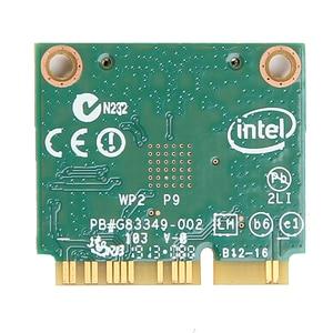 Image 2 - Dual band Für Intel Wireless N 7260 7260HMW EINE Halbe Mini Pci e 300Mbps Wireless Wifi + Bluetooth 4,0 notebook Wlan karte