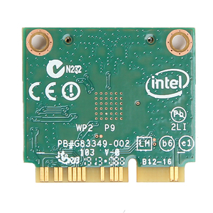 Image 2 - Tarjeta Wlan de doble banda para Intel Wireless N 7260 7260HMW AN Half Mini Pci e, 300Mbps, inalámbrica, Wifi + Bluetooth 4,0, Notebook