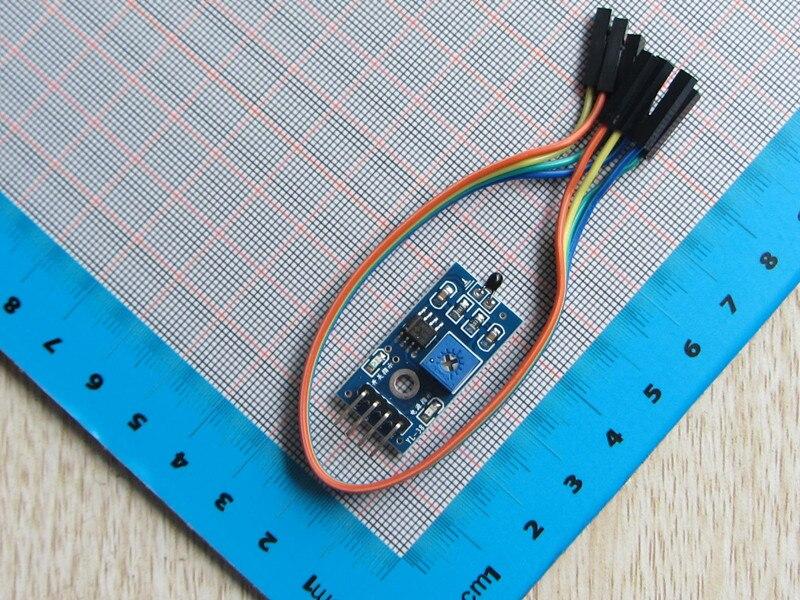 Free Shipping 5pc Thermal Sensor Module Thermistor Temperature Switch Module Smart Car Accessories