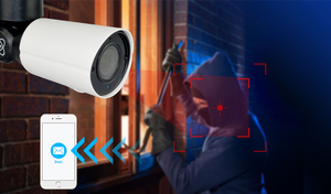Image 2 - Камера Наружного видеонаблюдения H.265 PTZ, водонепроницаемая камера 5 Мп, POE, 4X, Zoom, 4CH, NVR, IP