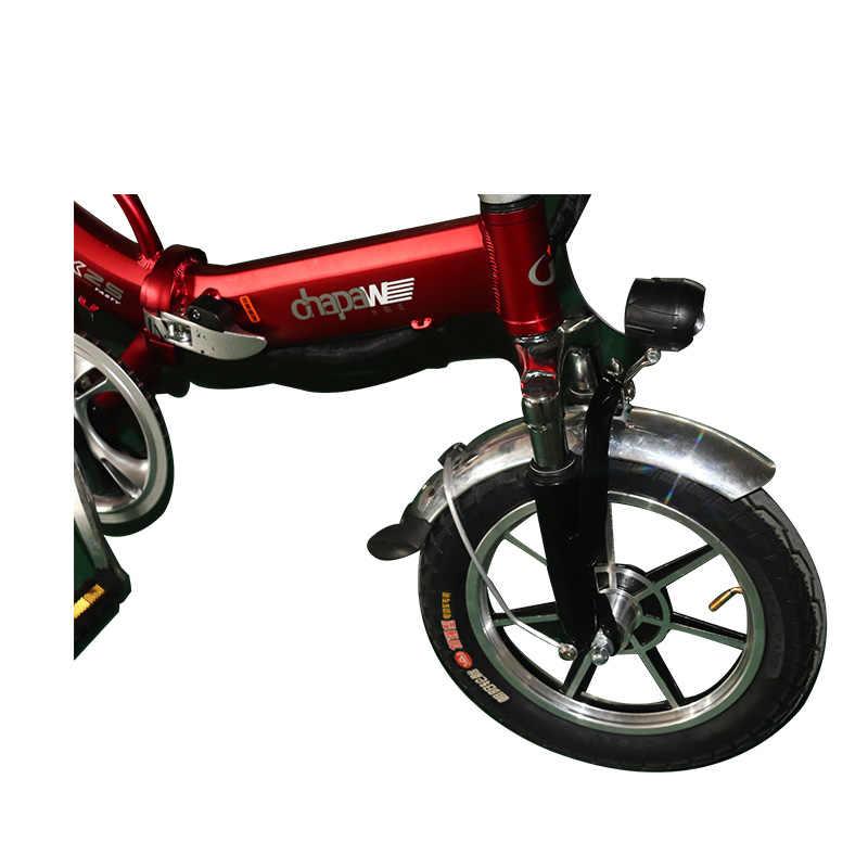 دراجة كهربائية للرجل 48 V 14ah بطارية ليثيوم دراجة كهربائية قابلة للطي طويلة المسافة الخلفية سكوتر بموتور كهربائي Ebike E-الدراجة