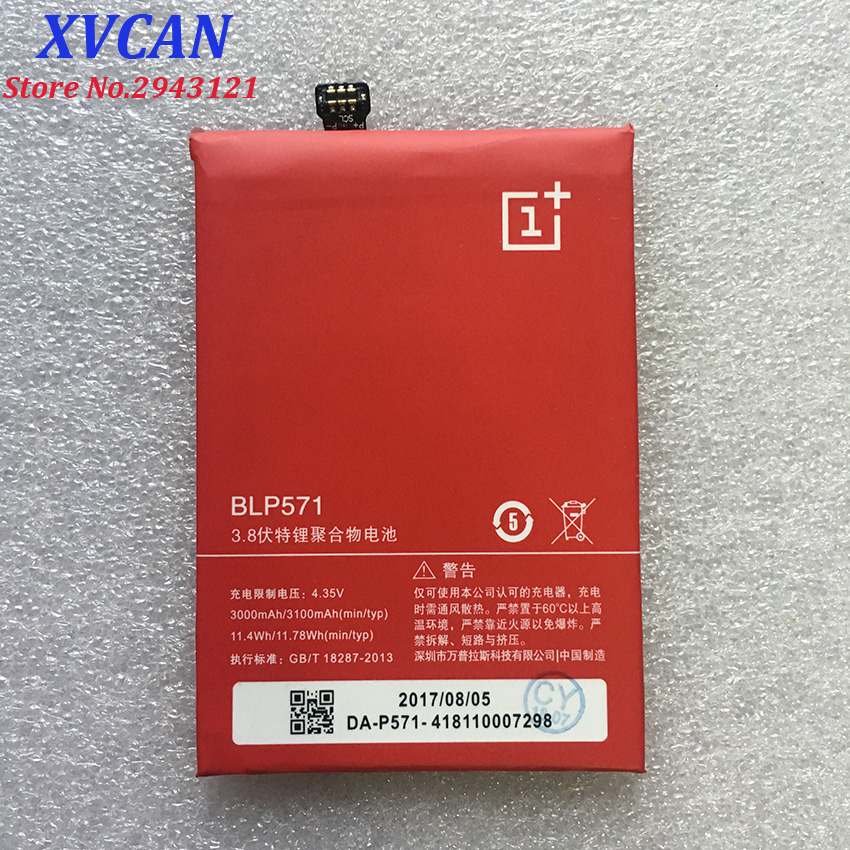 For Oneplus One Battery 3100mah BLP571 Back Up Battery Replacement For Oneplus 1 One Smart Phone