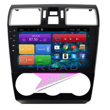 Roadlover Android 6.0 2G+16GB 9″ Car Multimedia GPS Navigation Fitment Subaru Forester XV 2015 Stereo Auto Audio Player NO DVD