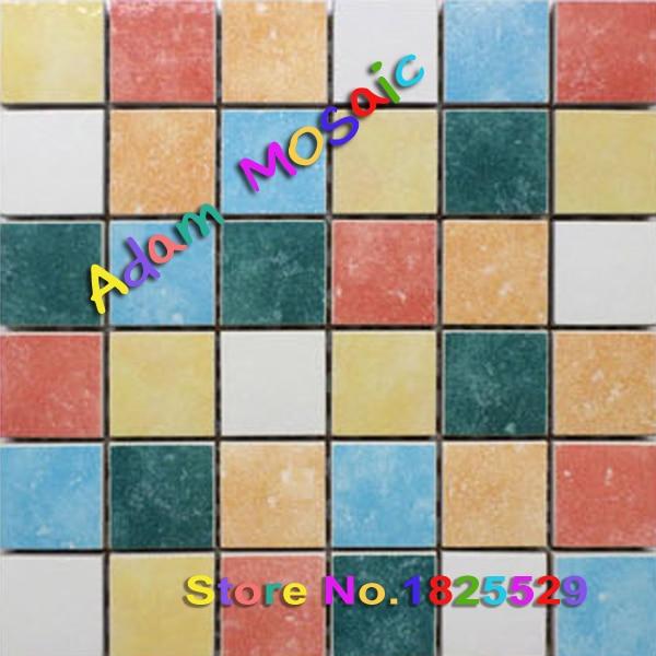 ceramic tiles iridescent kitchen backsplash floor tile color ...