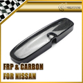 For Nissan Skyline R32GTS R32 GTR R33GTS Spec 2 Dry Carbon Fiber Room Rear View Mirror Cover Car Accessories Car Styling
