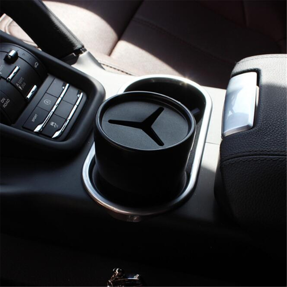 Universal Convenient Car Garbage Trash Box For Merdedes Benz LK CLS E G GL GLK ML R S SL Series