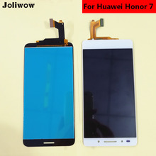 For Huawei Honor 7 LCD Display+Touch Screen Assembly Replacement for 5.2 inch replacement new lcd display touch screen assembly for huawei mediapad t2 7 0 lte bgo dl09 black 7 inch