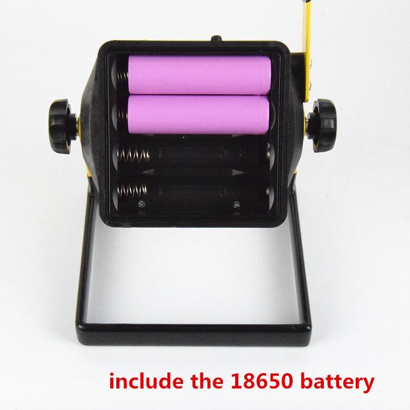 Projectores Portáteis recarregável 18650 Utilização : Portable Spotlight